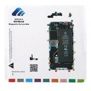 Магнитный коврик Magnetic Screw Mat со схемой разбора iPhone 4 (0L-00032863)
