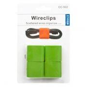 Скрутка-клипса для провода CC-922, зеленая, комплект 4 шт. (0L-00032150)
