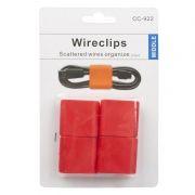 Скрутка-клипса для провода CC-922, красная, комплект 4 шт. (0L-00032148)