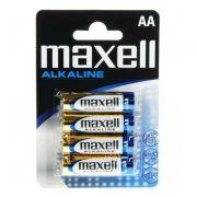 Батарейка AA Maxell LR6/4BL, Alkaline, 4шт в блистере