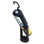 Фонарь Perfeo PF_A4420, многофункциональный светодиодный, LED+COB, прорезиненный, магниты, крючок