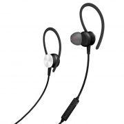 Гарнитура Bluetooth AKAI HD-202B, внутриканальная, спортивная, влагозащита, черная