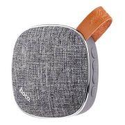 Колонка 1.0 HOCO BS9 Light Textile Bluetooth, MP3, 3 Вт, серая (0L-00039009)