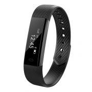Фитнес-трекер Smart Bracelet G115, шаги/расстояние/калории/пульс/сон, черный (0L-00034254)
