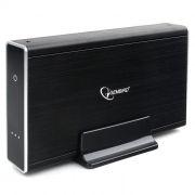 Внешний контейнер для 3.5 HDD S-ATA Gembird EE3-U3S-80, чёрный, USB 3.0, SATA, алюминий, б/п