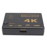 Переключатель 3 HDMI входа =>1 HDMI выход, поддержка 4K, пульт ДУ, Orient HS0301H-IR