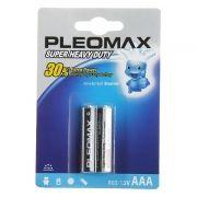 Батарейка AAA SAMSUNG PLEOMAX R03-2BL, солевая, 2шт, блистер