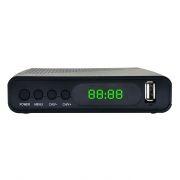 Цифровой телевизионный ресивер DVB-T2 HYUNDAI H-DVB500 черный