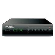 Цифровой телевизионный ресивер DVB-T2 HYUNDAI H-DVB560 черный