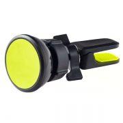 Держатель автомобильный на вентил. решетку, до 6,5, магнитный, черный/желтый, Perfeo PH-518-2
