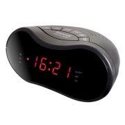 Радиочасы Perfeo Khronum, AM/FM, два будильника, 220В (PF_A4098)