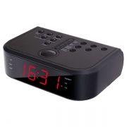 Радиочасы Perfeo Krios, AM/FM, два будильника, 220В (PF_A4484)