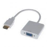Адаптер HDMI/M - VGA/F, 0.1 м, белый, Premier (5-983B)