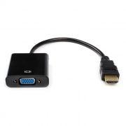 Адаптер HDMI/M - VGA/F, 0.1 м, черный, Premier (5-983B)