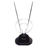 Антенна комнатная для ТВ, VHF/UHF, DVB-T2, пассивная, пакет, Selenga 100 (2137)