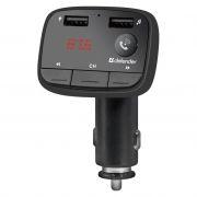 Автомобильный FM-трансмиттер Defender RT-Multy BT/HF, Bluetooth, USB 2.1A (68009)
