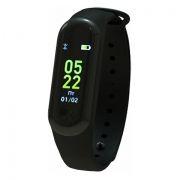 Фитнес-трекер RITMIX RFB-300, шаги/расстояние/калории/пульс/сон, черный