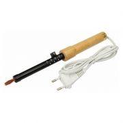 Паяльник 220В 25 Вт с деревянной ручкой ЭПСН (12-0225)