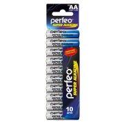 Батарейка AA Perfeo LR6/10SH Super Alkaline, 10шт, Shrink Card