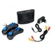 Игровая приставка 16-bit Sega Magistr X 220 игр, microSD, 2 джойстика, кабель AV, адаптер