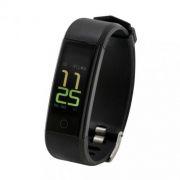 Фитнес-трекер RITMIX RFB-400, шаги/расстояние/калории/пульс/сон, черный