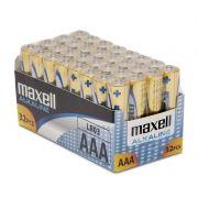 Батарейка AAA Maxell LR03/32BOX, Alkaline, 32шт, коробка