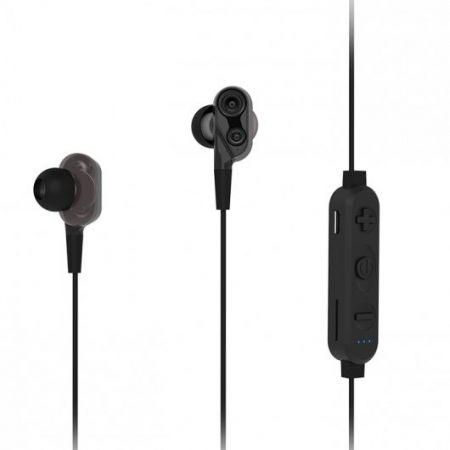 Гарнитура Bluetooth RITMIX RH-495BTH, Hi-Fi,  MP3, вставная, черная