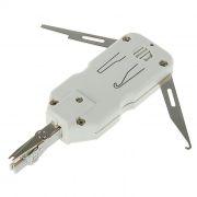 Инструмент универсальный нож 5bites LY-T2020B с регулировкой, для разделки контактов Krone