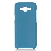 Клип-кейс для Samsung J2 Prime, синий, шероховатый, TPU, Perfeo (PF_5300)