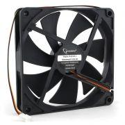 Вентилятор 140 x 140 x 25, 3 pin, 12V, втулка, кабель 40 см, Gembird (D14025SM-3)