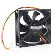 Вентилятор 80 x 80 x 25, 3 pin, 12V, гидродинамич. подшипник, кабель 30 см, Gembird (D8025HM-3)