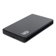 Внешний контейнер для 2.5 HDD/SSD S-ATA III AgeStar 3UB2P2, чёрный, пластик, USB 3.0