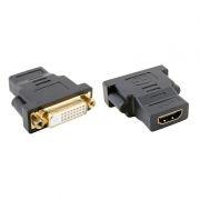 Адаптер DVI-D/F - HDMI/F, ORIENT C489