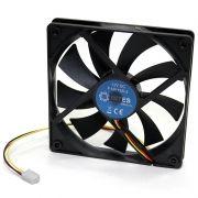 Вентилятор 120 x 120 x 15, 3 pin, 12V, втулка, 5bites (F12015-S3)