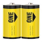 Батарейка D SmartBuy ONE R20/2S, солевая, 24 шт, коробка (SOBZ-D02S-Eco)