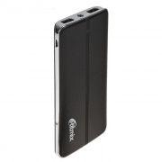 Зарядное устройство RITMIX  RPB-6007P Black, 6000 мА/ч Li-Pol, 2xUSB, фонарик