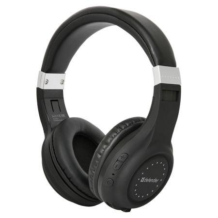 Гарнитура Bluetooth DEFENDER B551 FreeMotion, накладная, черная (63551)