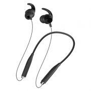 Гарнитура Bluetooth DEFENDER B730 OutFit, вставная, шейный обод, черная (63730)