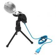 Микрофон RITMIX RDM-127 USB, конденсаторный, подставка