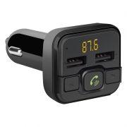 Автомобильный FM-трансмиттер Defender RT-Edge BT/HF, Bluetooth, USB 2.4A (68012)