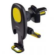 Держатель автомобильный на вентил. решетку, до 6,5, магнитный, черный/желтый, Perfeo 533 (PF_A4347)