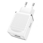 Зарядное устройство Hoco C42A QC3.0 3А USB, белое