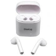 Гарнитура Bluetooth Dialog ES-15BT, вставная, белая