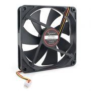Вентилятор 140 x 140 x 25, 3 pin, 12V, подшипник качения, кабель 40 см, Gembird (D14025BM-3)