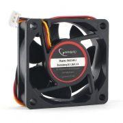 Вентилятор 60 x 60 x 25, 3 pin, 12V, гидродинамич. подшипник, кабель 25 см, Gembird (D6025HM-3)