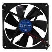 Вентилятор 140 x 140 x 25, 4 pin - molex, втулка, 5bites (F14025S-HDD)