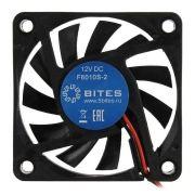 Вентилятор 60 x 60 x 10, 2 pin, 12V, втулка, 5bites (F6010S-2)