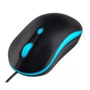 Мышь Perfeo Mount, черно-голубая, USB (PF_A4510)