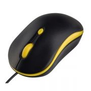 Мышь Perfeo Mount, черно-желтая, USB (PF_A4511)
