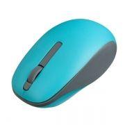 Мышь беспроводная Perfeo Funny, голубая, USB (PF_A4502)